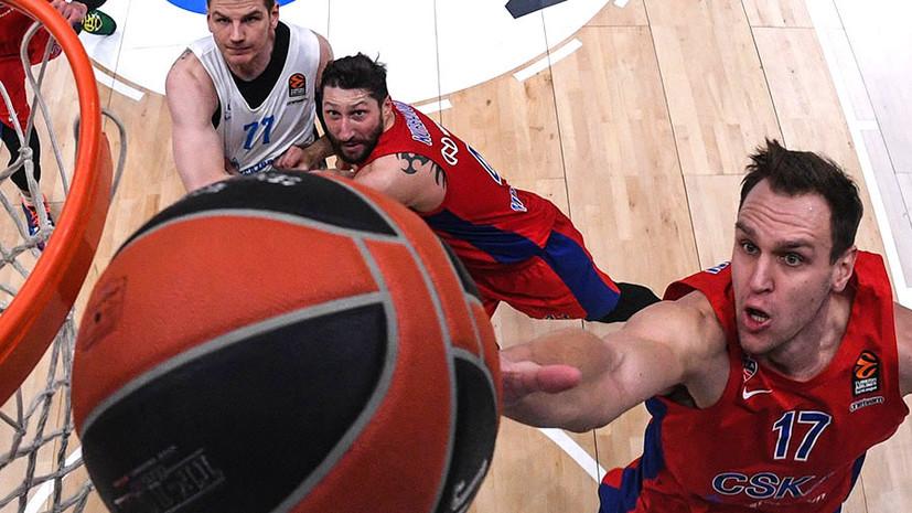 На разных полюсах: как российские клубы закончили первый круг баскетбольной Евролиги