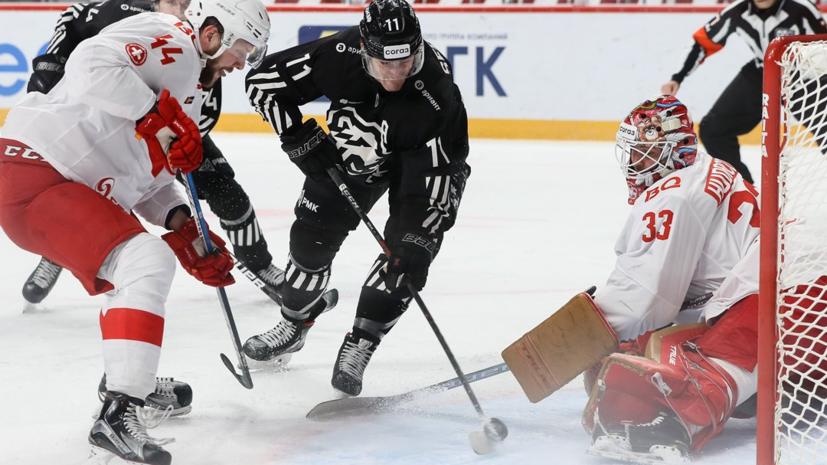 «Спартак» обыграл «Трактор», прервав серию поражений в КХЛ