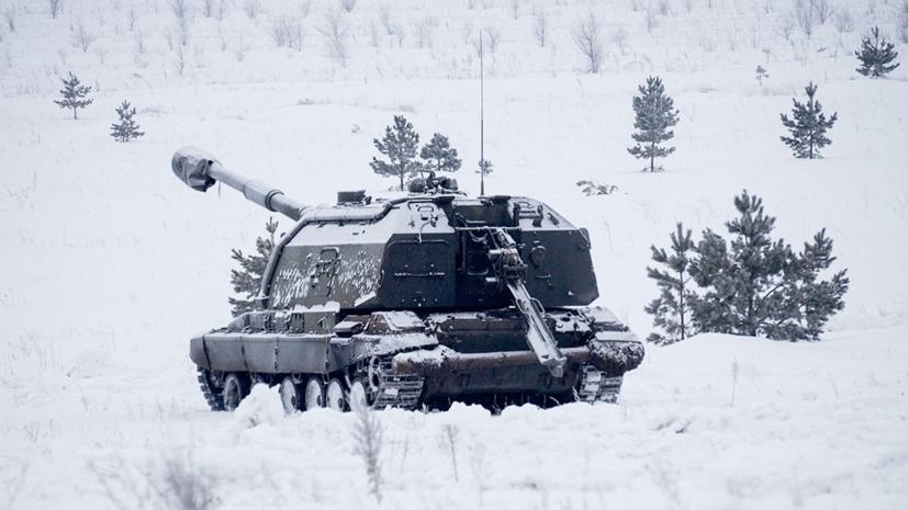 Артиллеристы ЮВО провели учения в Северной Осетии