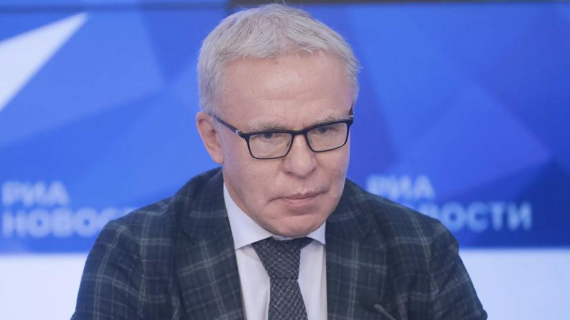 Фетисов отказался отвечать на вопрос об увольнении Ларионова