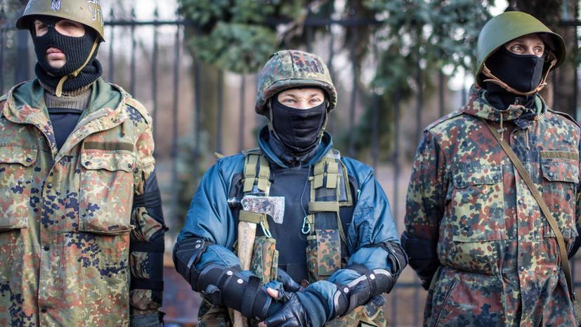 В Киеве националисты устроили митинг у здания посольства Израиля