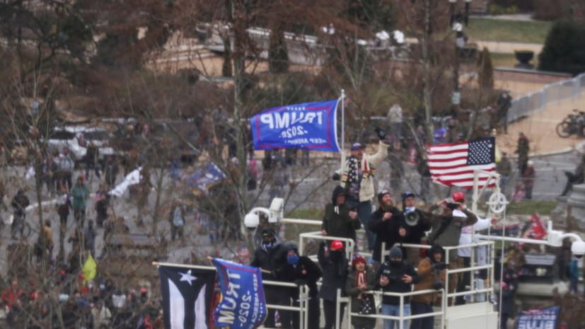 В Вашингтоне ввели комендантский час на фоне беспорядков