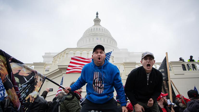 В Белом доме подтвердили отправку бойцов Нацгвардии в Вашингтон