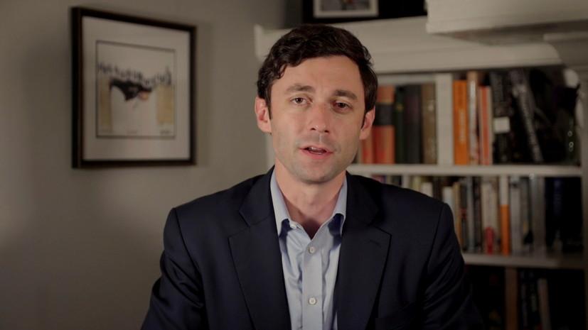 Демократ Оссофф победил на выборах в сенат США в Джорджии