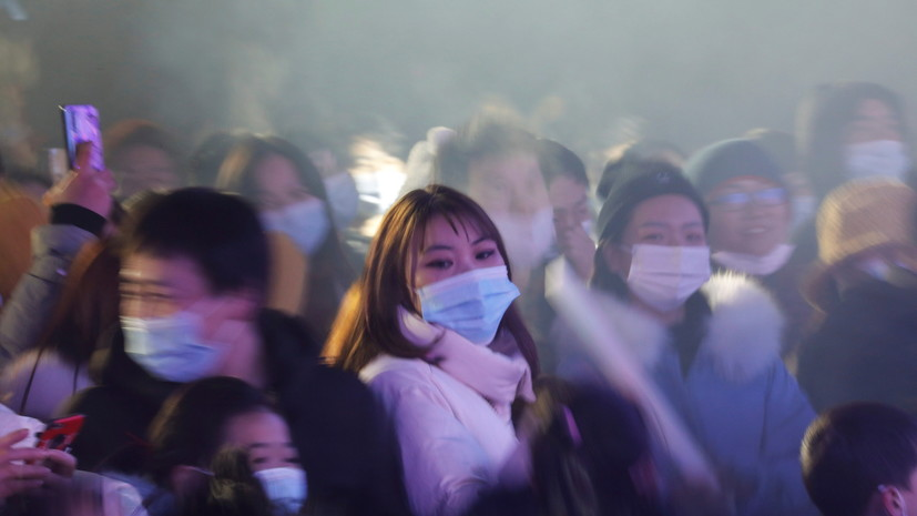 Китай за сутки выявил 63 случая коронавируса