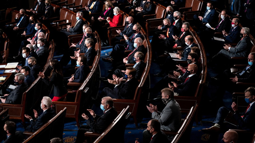 Палата представителей США отклонила протест по выборам в Пенсильвании