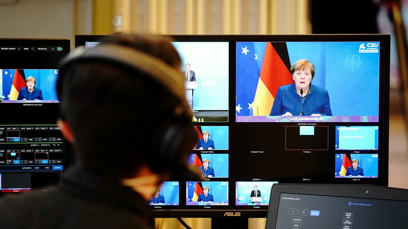 Меркель призывает к сильной Европе с мудрым взглядом на остальной мир