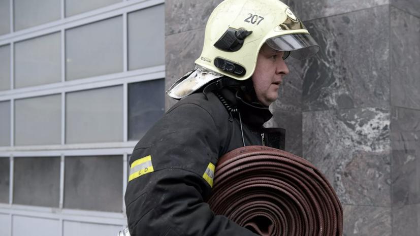 СК начал проверку по факту гибели четырёх человек при пожаре в Москве