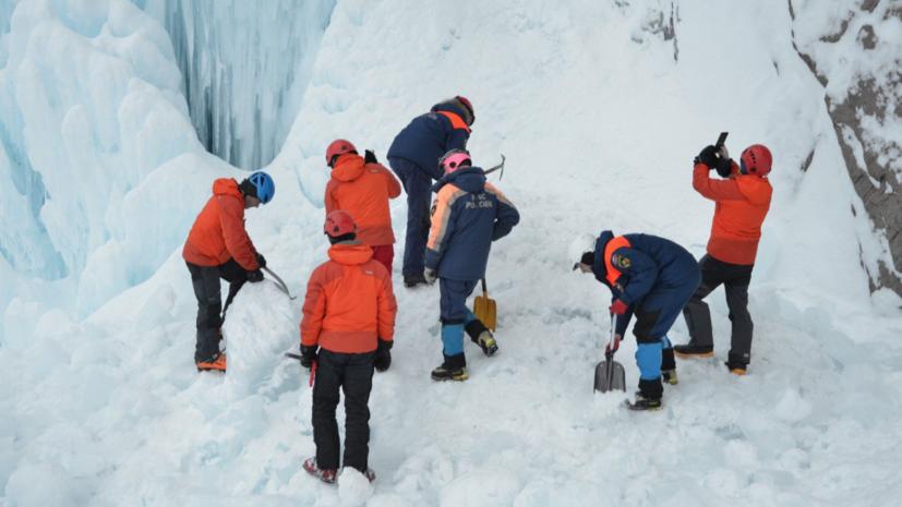 Очевидец рассказала об обвале льда на Камчатке