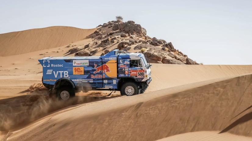 Экипаж Каргинова выиграл пятый этап «Дакара» в зачёте грузовиков