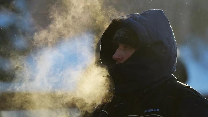 Спасатели предупредили о морозах до -25 ˚С в Ленобласти