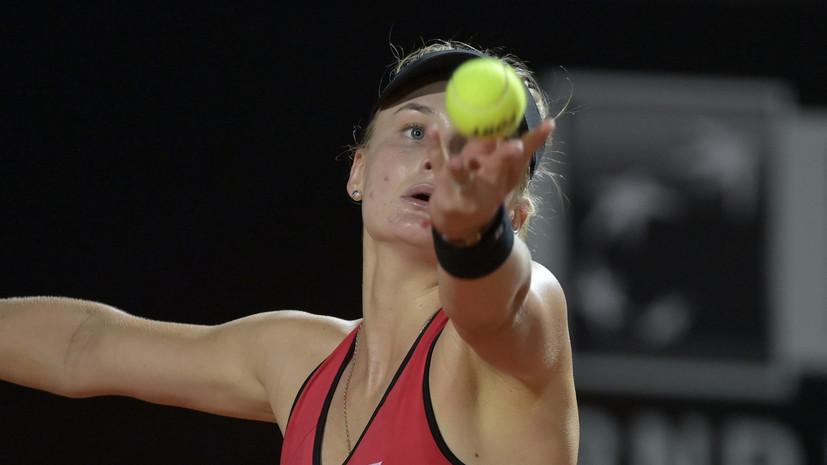Украинскую теннисистку Ястремскую временно отстранили за допинг