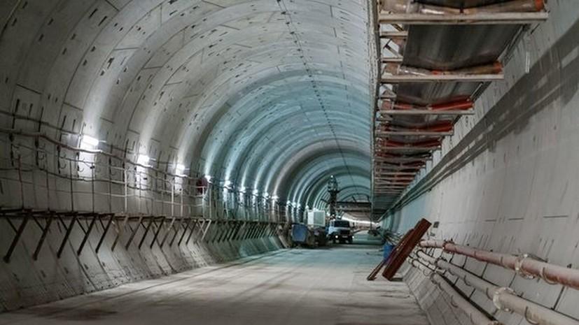Власти Москвы рассказали о строительстве станций БКЛ «Карамышевская» и «Мнёвники»
