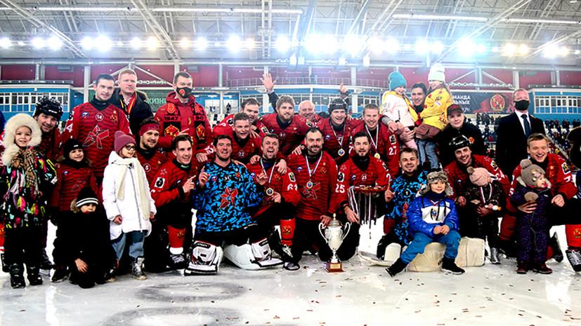 «СКА-Нефтяник» завоевал Суперкубок России по хоккею с мячом