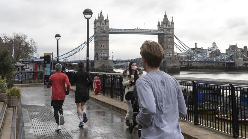 В Великобритании за сутки выявили более 52 тысяч случаев коронавируса
