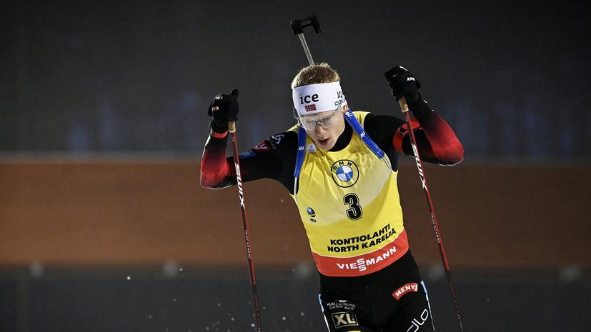 Бё прокомментировал информацию о коронавирусе в сборной Норвегии