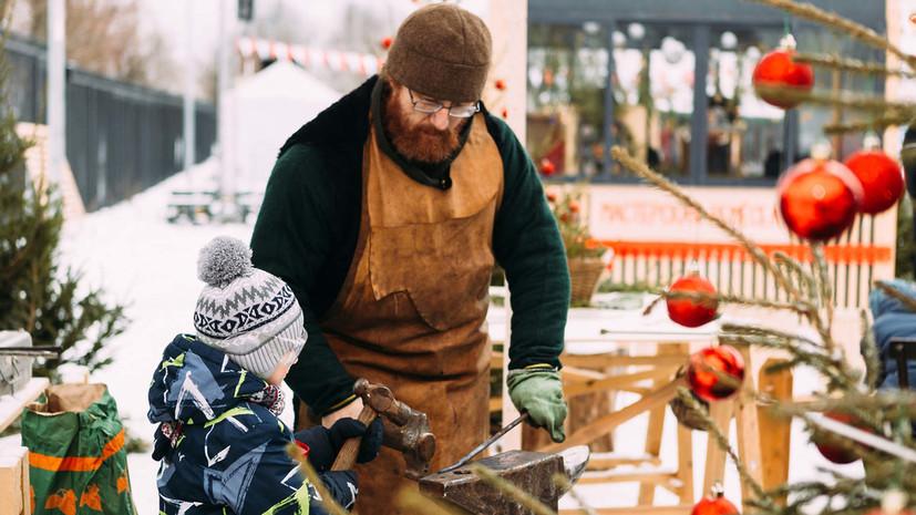 В Истре стартовал фестиваль «Мастерская Рождества»