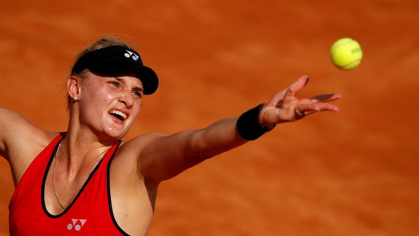 Сдавшая положительный тест теннисистка Ястремская отвергла обвинения в допинге