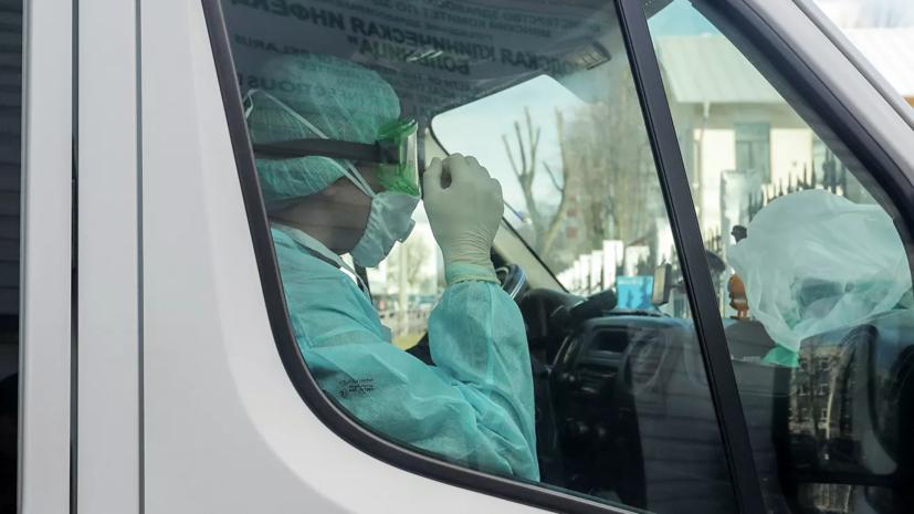 В Белоруссии за сутки зафиксировано 1805 новых случаев коронавируса