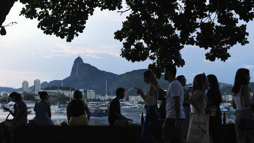В Бразилии число выявленных случаев коронавируса превысило 8 млн