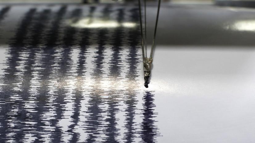 Землетрясение магнитудой 5,5 произошло у берегов Вануату