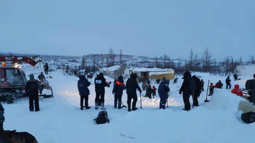 Мэрия Норильска напомнила жителям о сохраняющейся угрозе схода лавин