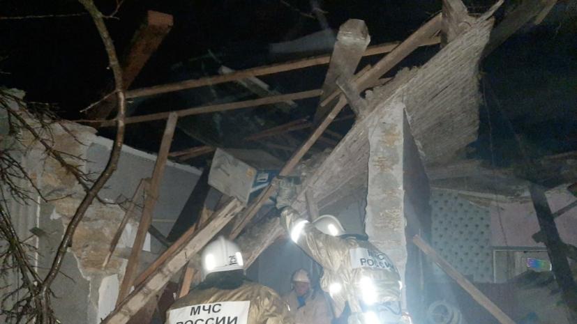 Три человека пострадали при взрыве газа в одном из домов в Крыму