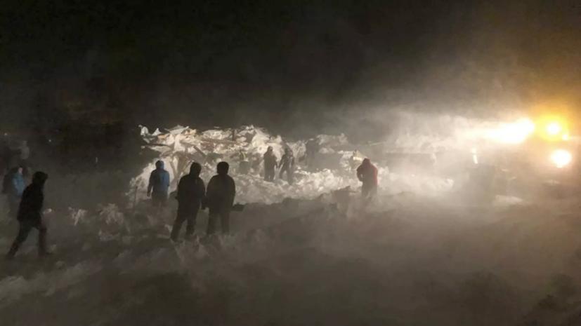 В Норильске объявили день траура по погибшим при сходе лавины