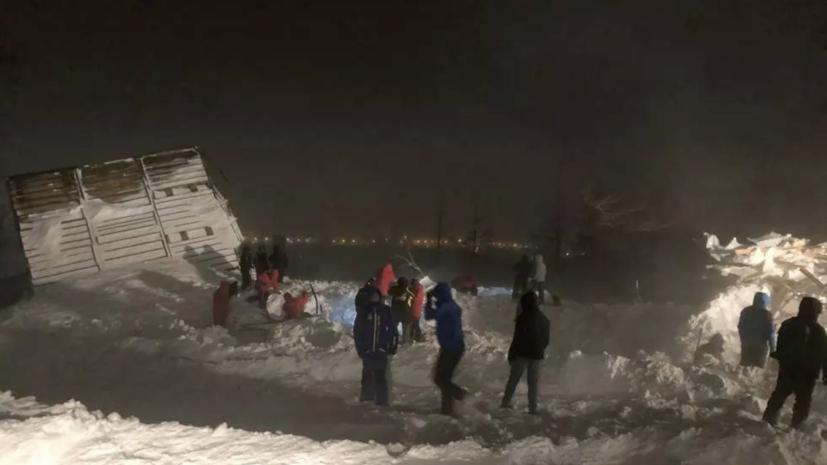 Бастрыкин взял на контроль дело о гибели людей под лавиной в Норильске
