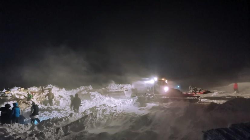 Попавшего под лавину в Норильске подростка сняли с ИВЛ