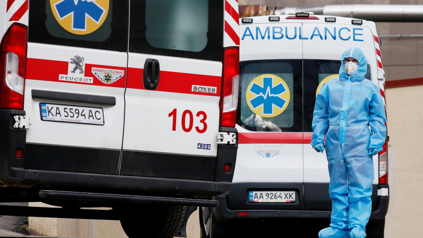 На Украине за сутки выявили 5011 случаев коронавируса