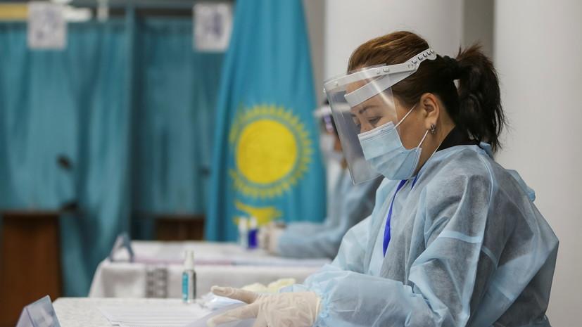 Явка на парламентские выборы в Казахстане к 14:00 составила 43,9%
