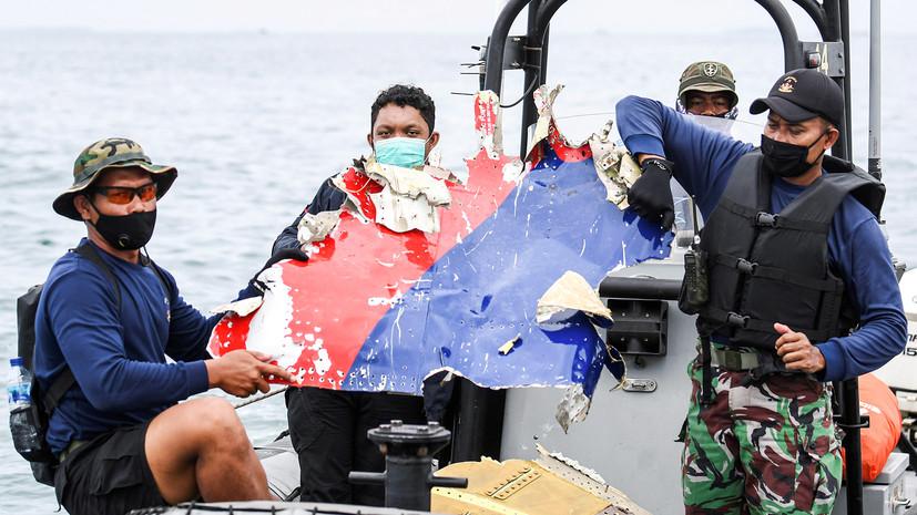 «Мы находим в море много обломков»: в Индонезии прошла операция по поднятию фрагментов упавшего Boeing