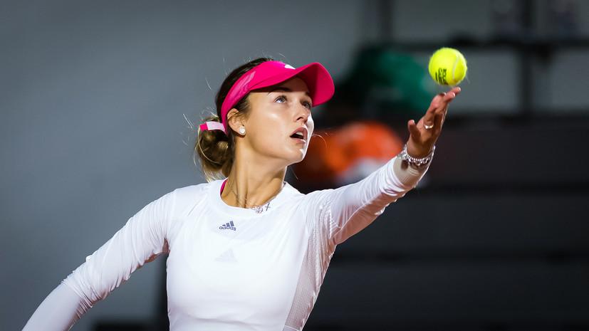 Калинская победила Галфи в матче первого круга квалификации Australian Open