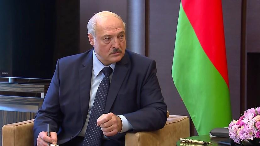 Лукашенко заявил, что Белоруссия готова провести ЧМ по хоккею