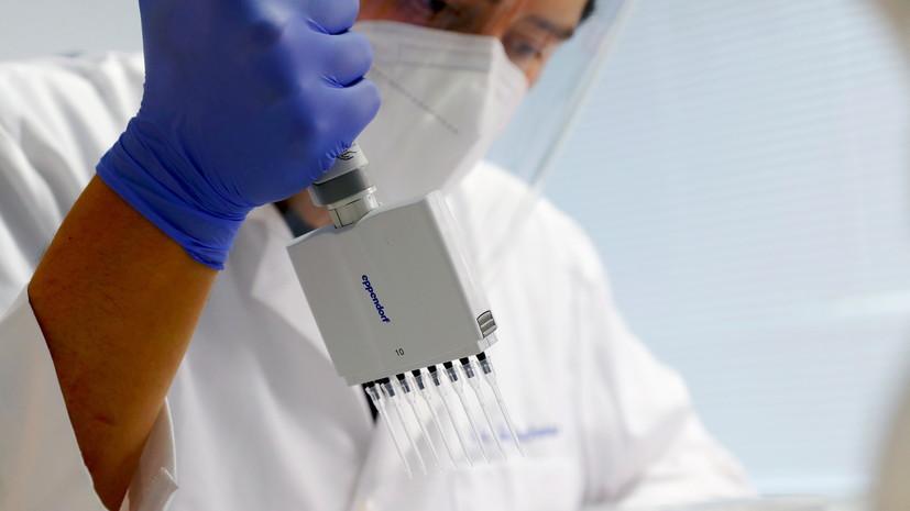 «Вектор» изучает образец выявленного в Британии штамма коронавируса