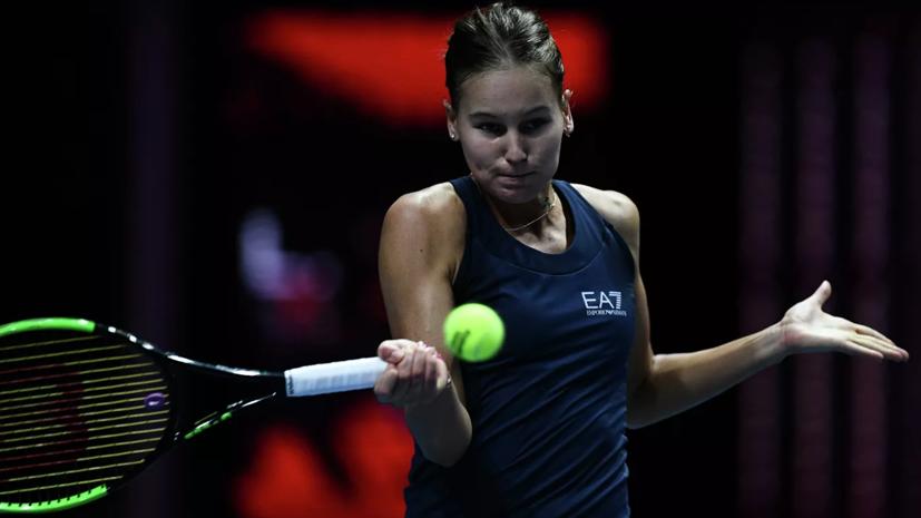 Кудерметова обыграла Свитолину и вышла в финал турнира WTA в Абу-Даби