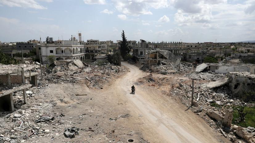 Террористы совершили 21 обстрел в идлибской зоне деэскалации в Сирии