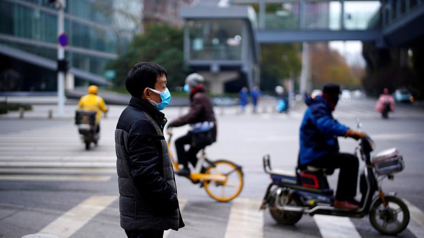 В Китае за сутки выявили 55 новых случаев коронавируса