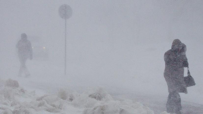 На Сахалине прогнозируют сильный ветер и метель