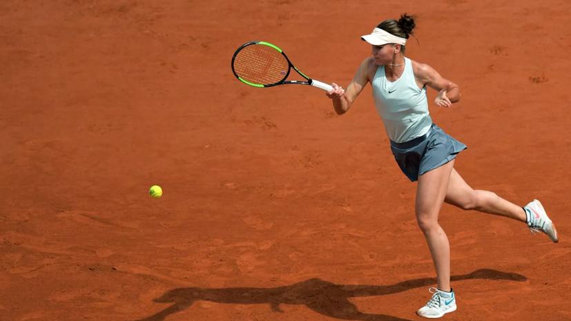 Кудерметова поделилась ожиданиями от финала турнира WTA в Абу-Даби