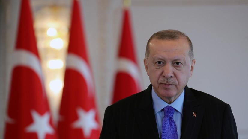 Эрдоган завёл свой канал в Telegram