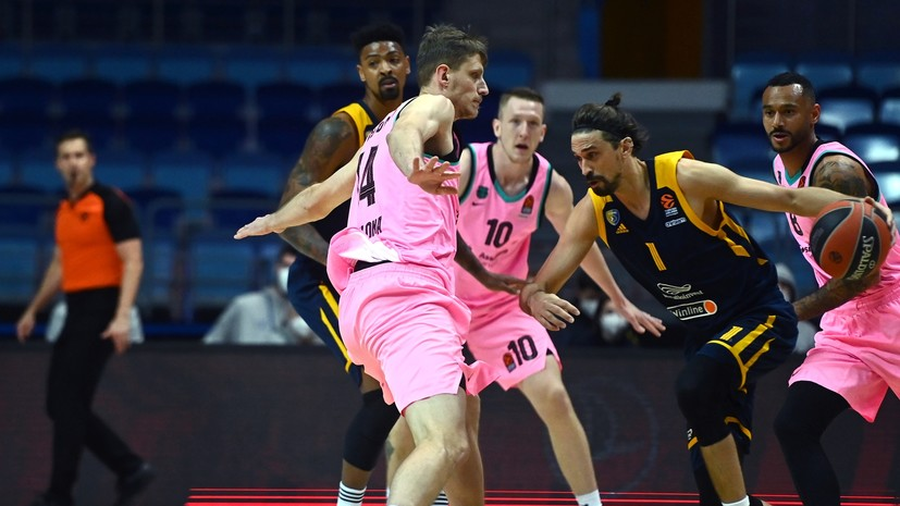 «Химки» проиграли «Барселоне» в матче баскетбольной Евролиги