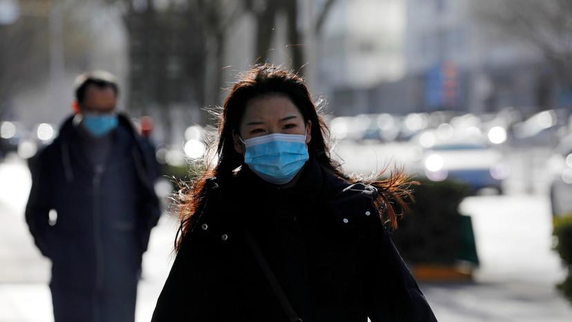 Власти Китая за сутки выявили 115 новых случаев коронавируса
