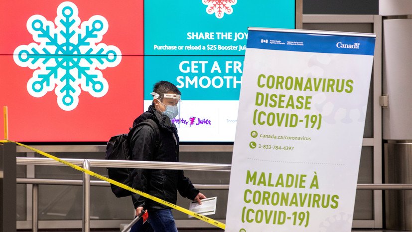 В Канаде число случаев коронавируса достигло почти 675 тысяч