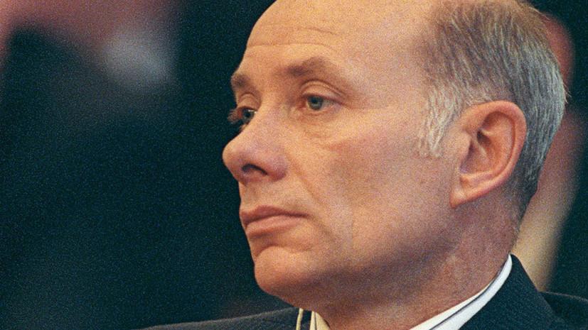 Умер первый губернатор Сахалина Валентин Фёдоров
