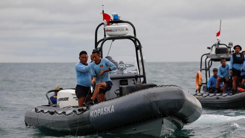 В Индонезии из-за непогоды приостановили поиски разбившегося Boeing