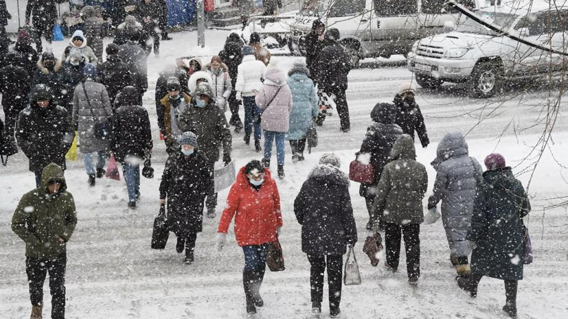 В Гидрометцентре рассказали о погоде в России в январе и феврале