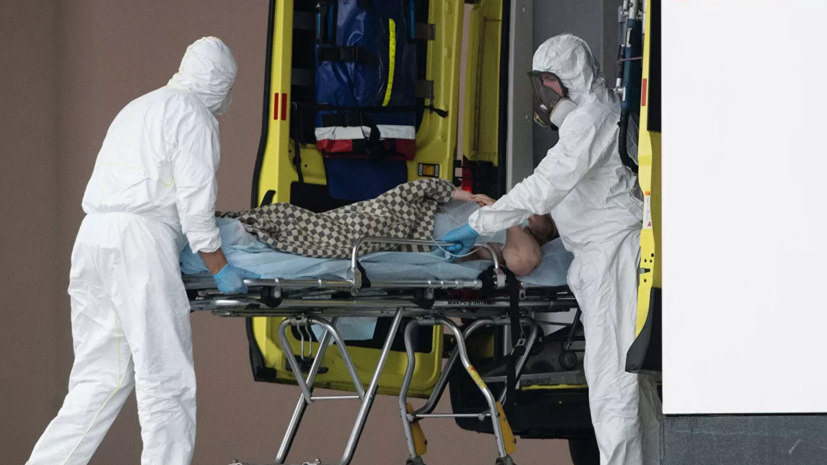 В Петербурге возросло число госпитализаций больных коронавирусом