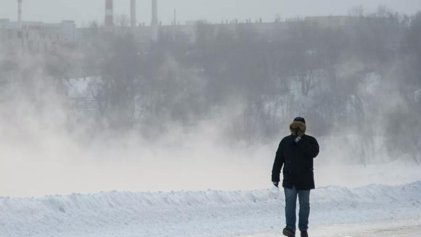 Спасатели предупредили о морозах до -42 ˚С в Кировской области